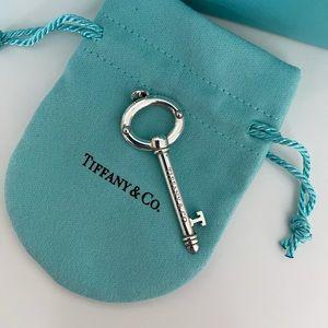 Tiffany Oval Key Pendant